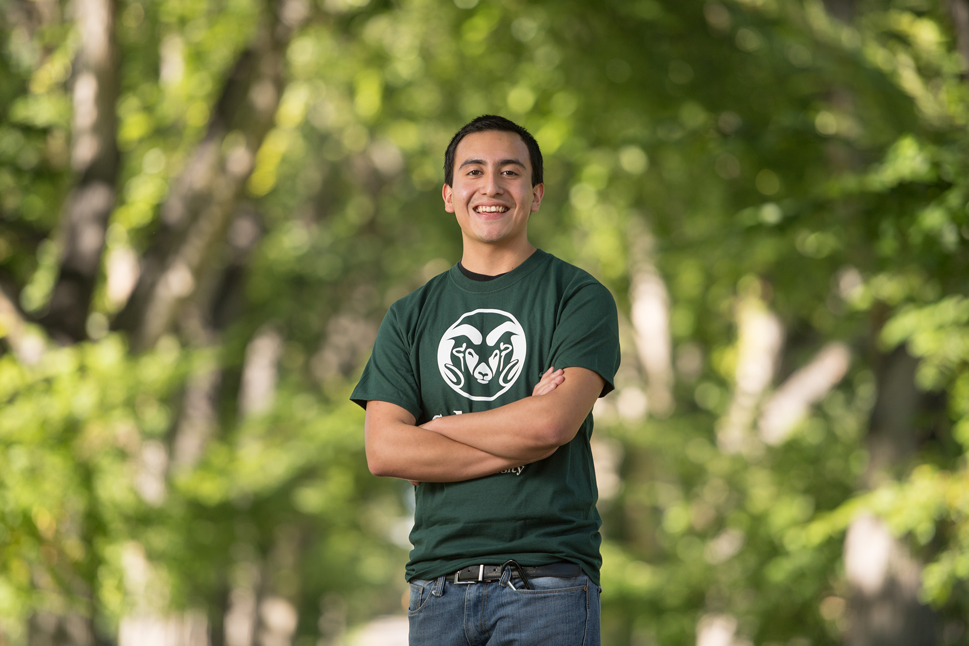 Gustavo Ontiveros, First-Generation Student
